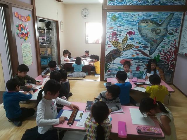 みんな集中✨みんな真剣✨~~学習の時間~~凄いでしょ!