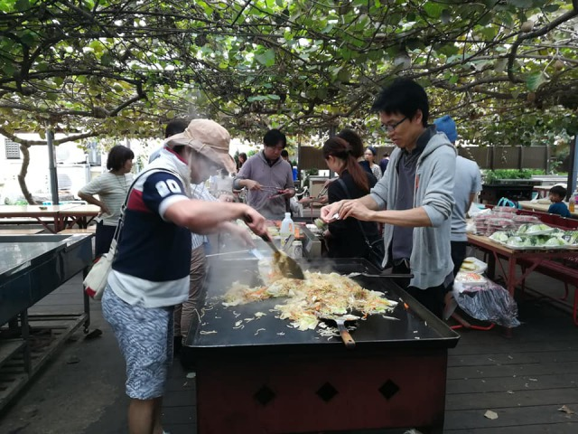 チャイスタ☆のこどもたちとその家族が一同に介してBBQを開催しました!