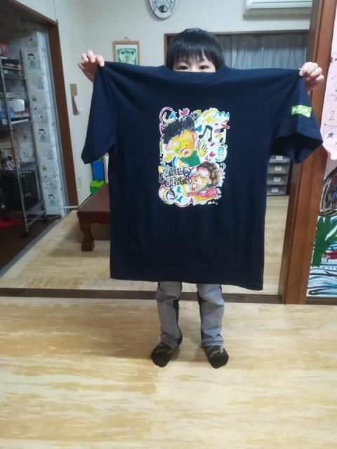 『四代目チャイスタ☆Tシャツ』👕完成~~「みんなで楽しく歌おうよ♫」~~